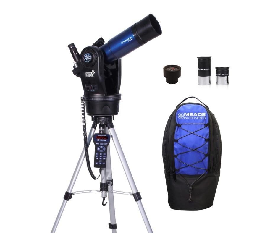 Телескопы с рюкзаком